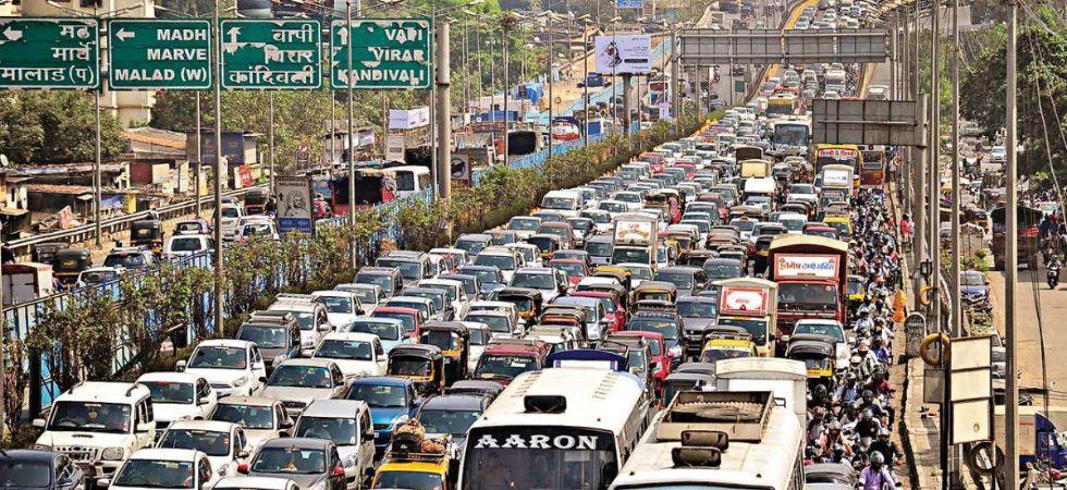 Mumbai Traffic (Photo Credit: Twitter)