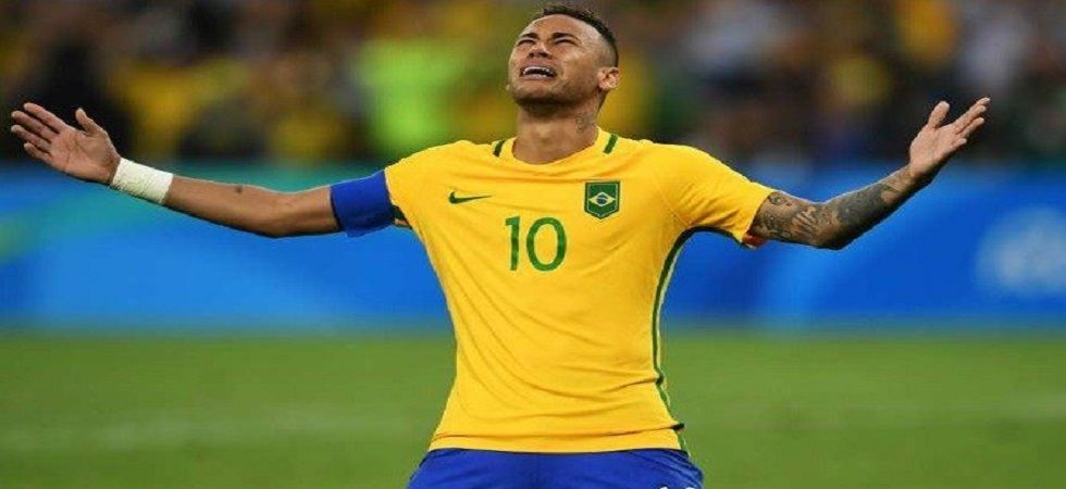 The rape allegation against Neymar also dominated Brazil coach Tite's news conference on Monday, his first since the accusation was revealed. (Image credit: Twitter)