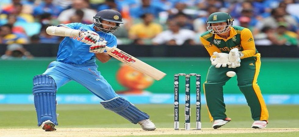 Shikhar Dhawan's century gave India their first-ever win against South Africa in the World Cup during the 2015 edition match in Melbourne. (Image credit: Twitter)