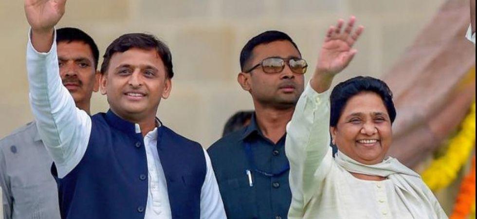 BSP chief Mayawati and Akhilesh Yadav