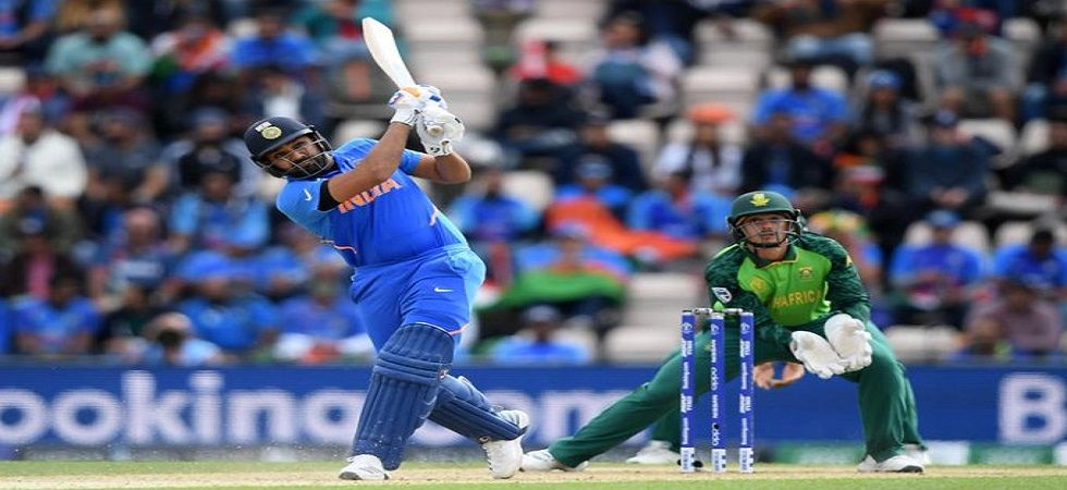 Rohit Sharma's 23rd century helped India to a six-wicket win and gave Virat Kohli's side a winning start in the ICC Cricket World Cup 2019. (Image credit: Twitter)