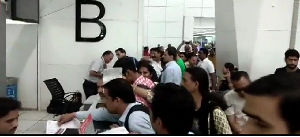 Chaos at IGI T-3 as over 20 passengers travelling on Air India Delhi-Guwahati flight denied boarding passes