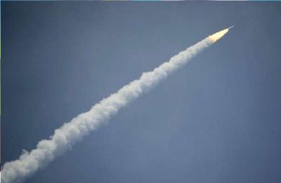 China launches its first rocket from mobile platform in sea