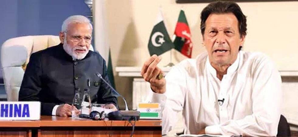 Pakistan Prime Minister Imran Khan and his Indian counterpart Narendra Modi.