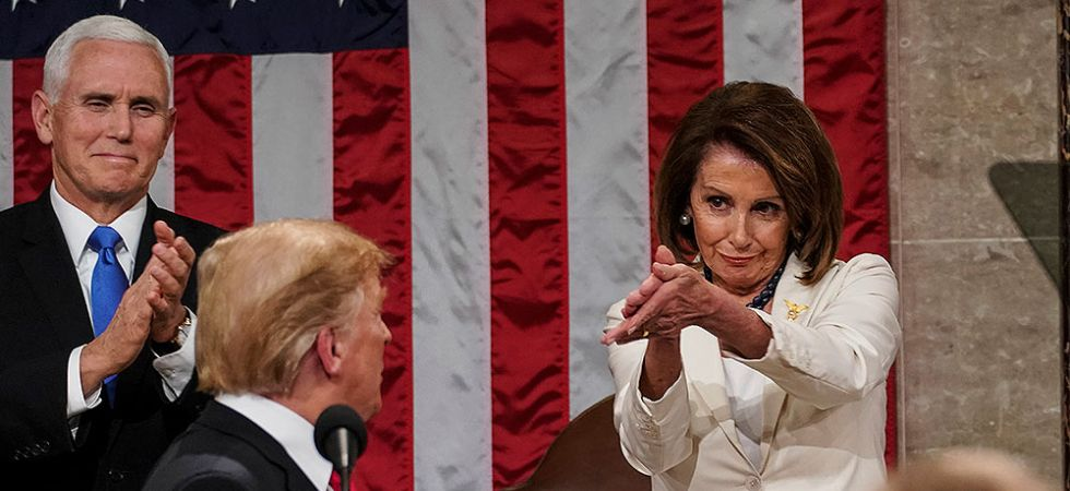 Nancy Pelosi has toughened her language about President Trump in recent weeks. (File Photo)