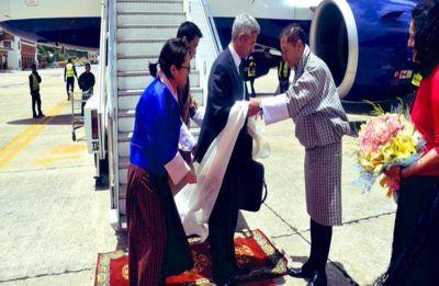 Foreign Minister S Jaishankar arrives in Bhutan on first overseas visit