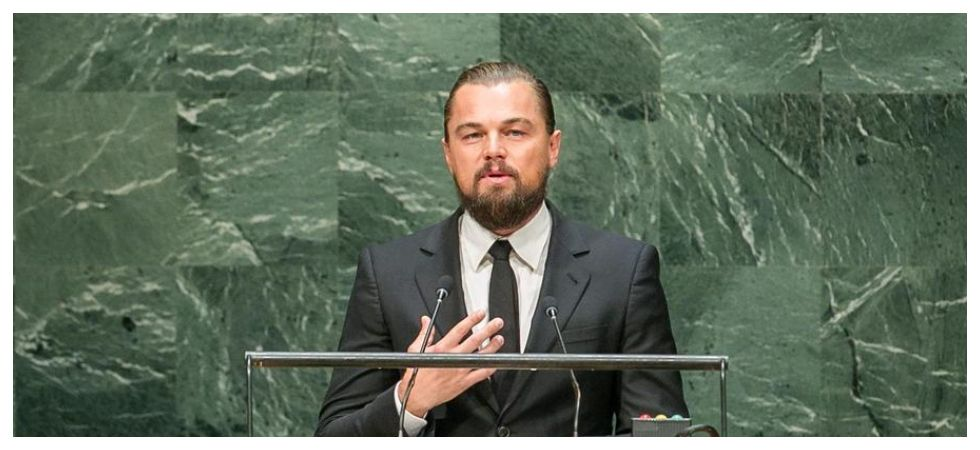 Leo DiCaprio attends doc premiere with George DiCaprio (Photo: Twitter)