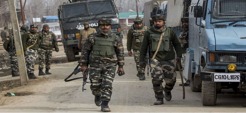 Security forces in Jammu and Kashmir (File Photo)
