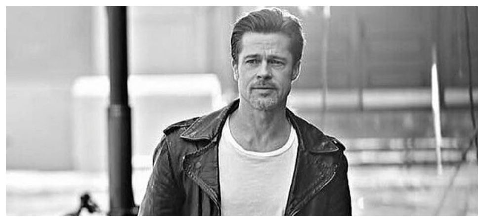 Brad Pitt calls out 'Straight Pride' group (Photo: Instagram)