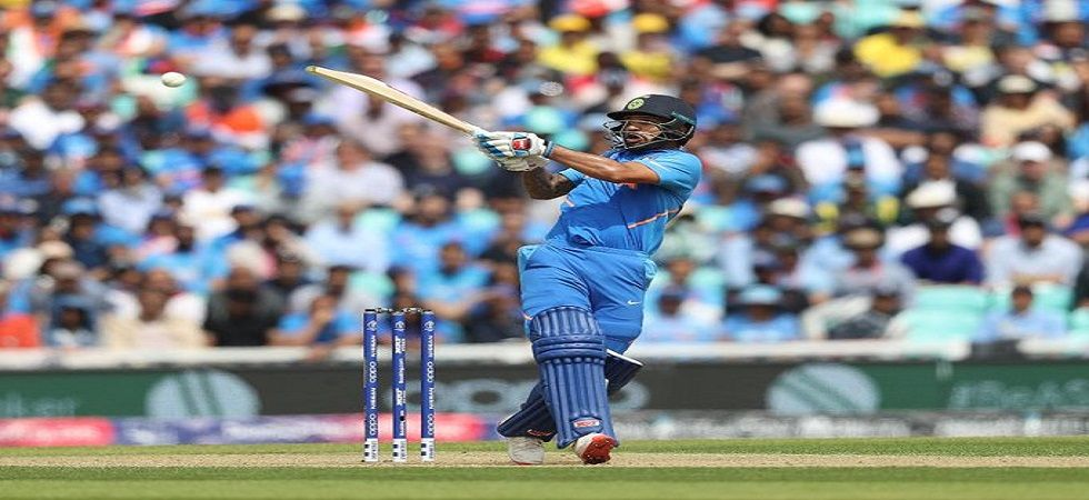 Shikhar Dhawan's brilliant century gave India a brilliant 36-run win against Australia in the ICC Cricket World Cup 2019 clash at the Oval. (Image credit: Twitter)