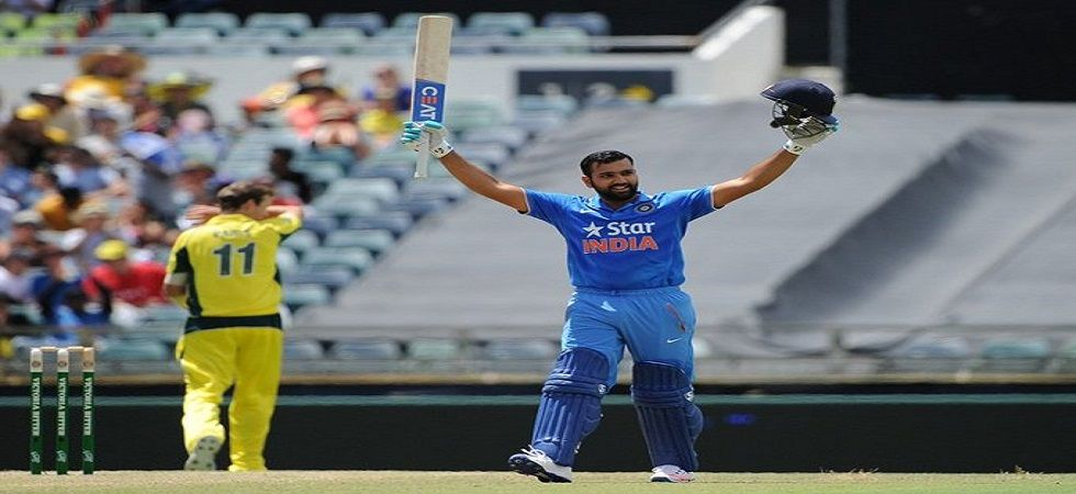 Rohit Sharma became the fourth player to score 2000 runs versus Australia in ODIs during the ICC Cricket World Cup 2019 clash at the Oval. (Image credit: Twitter)