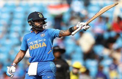 ICC Cricket World Cup 2019: Virat Kohli hits half-century of fifties in clash vs Australia