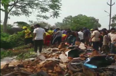 4 dead, 5 injured after wall of rice mill collapsed near Alasua market in Odisha's Dhenkanal