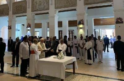 PM Modi visits Sri Lanka, first visit by foreign dignitary since Easter bombings