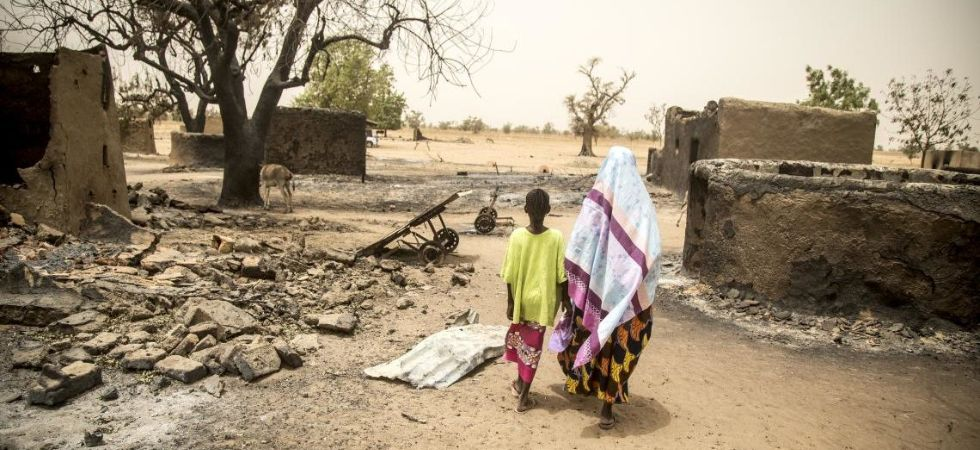Attack in central Malian village (Photo Credit: Twitter)