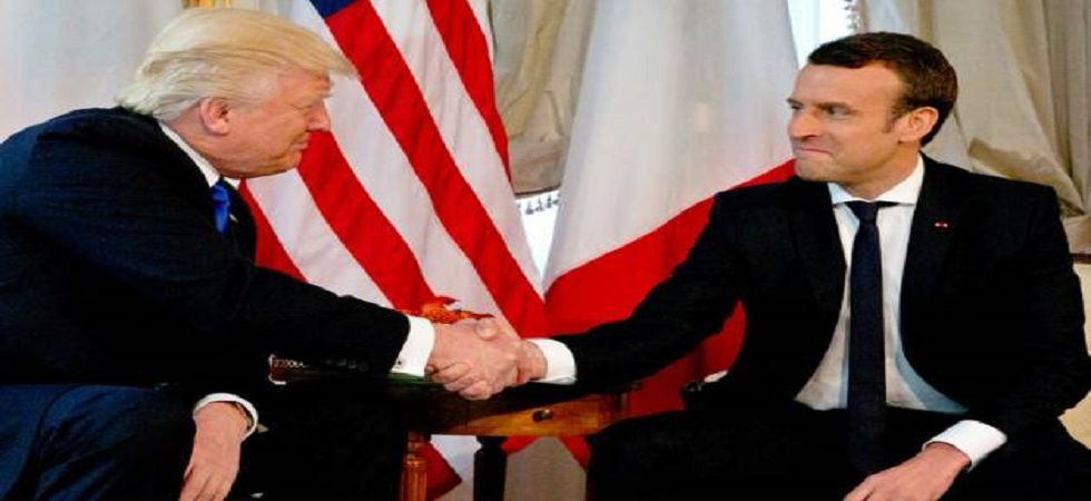 It was a symbolic gesture: the tree came from a northern French forest where 2,000 US Marines died during the First World War. (File photo)