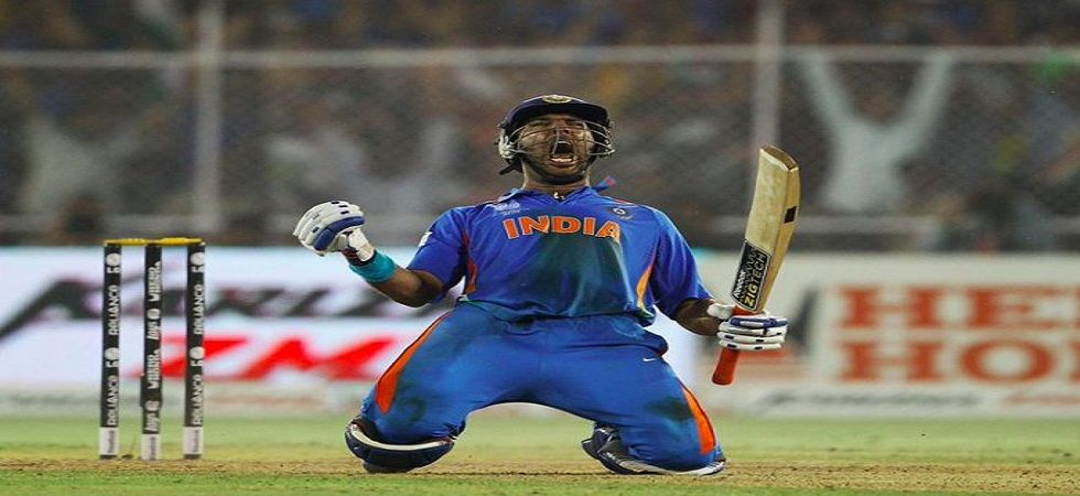 Yuvraj Singh had some outstanding moments in his 17-year international career. (Image credit: Twitter)
