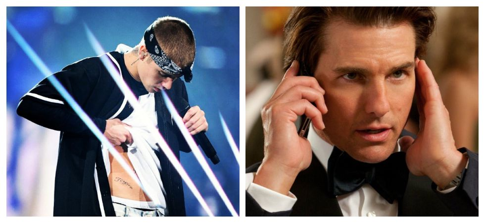Say what? Justin Bieber has challenged Tom Cruise to a UFC ...