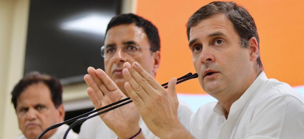If every journalist who files a false report or peddles fake, vicious RSS/BJP sponsored propaganda about me is put in jail, most newspapers/ news channels would face a severe staff shortage, Rahul Gandhi said. (Congress/Twitter)