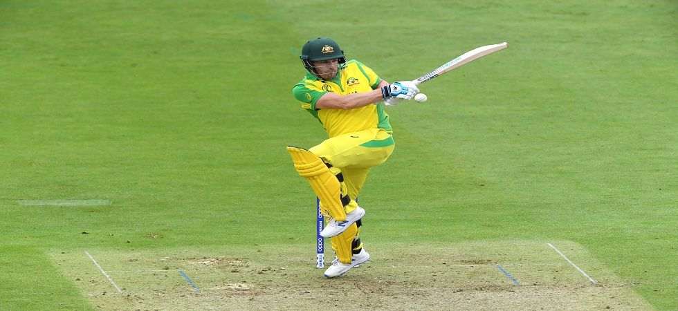 Aaron Finch blasted the 100th six of the ICC Cricket World Cup 2019 during Australia's clash against Pakistan. (Image credit: Getty Images)