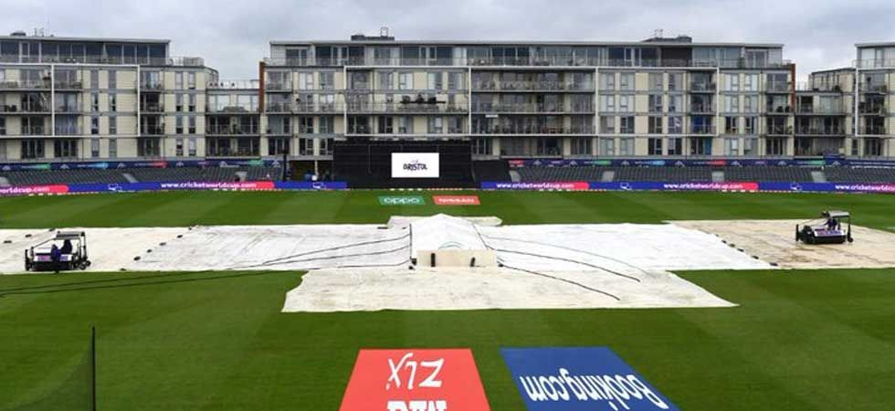 Rain forced umpires to call off the match between Bangladesh and Sri Lanka. (Photo: Twitter/@cricketworldcup)