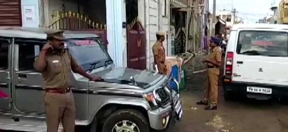 NIA raids underway at 7 locations in Coimbatore in connection with ISIS module. (ANI Photo)