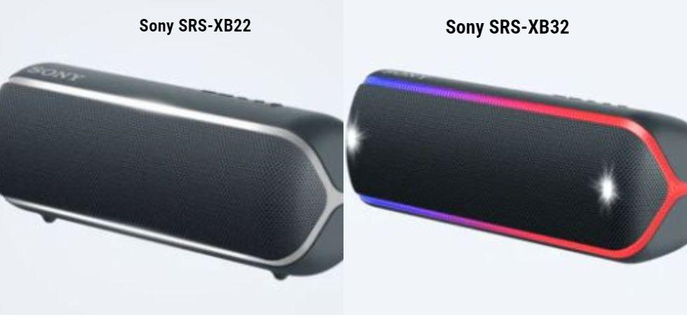 Sony SRS-XB22 & Sony SRS-XB32 (Photo Credit: Sony)
