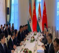 PM Narendra Modi meets Chinese President Xi Jinping on sidelines of SCO Summit in Bishkek