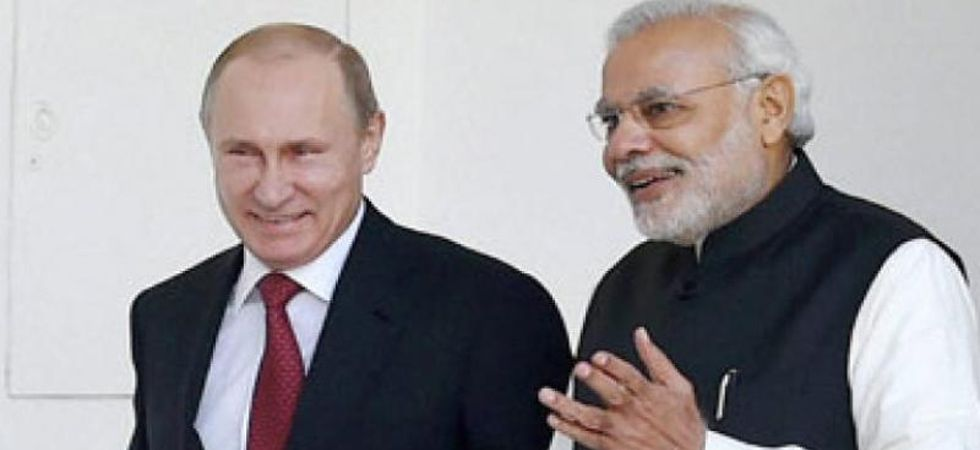 This is the first meeting between PM Modi and Vladimir Putin stunning victory of the BJP in the general elections last month.