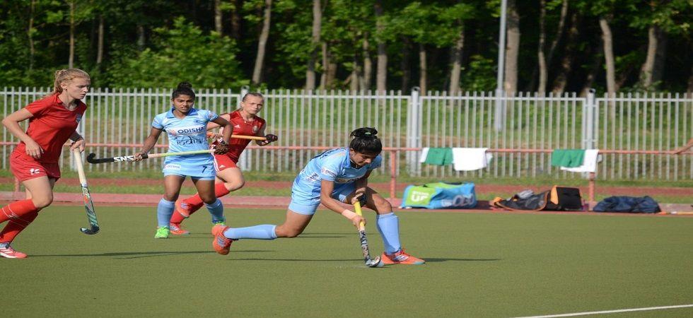 Indian junior women's hockey team mauls Belarus Development team 6-0 (Image Credit: Twitter)