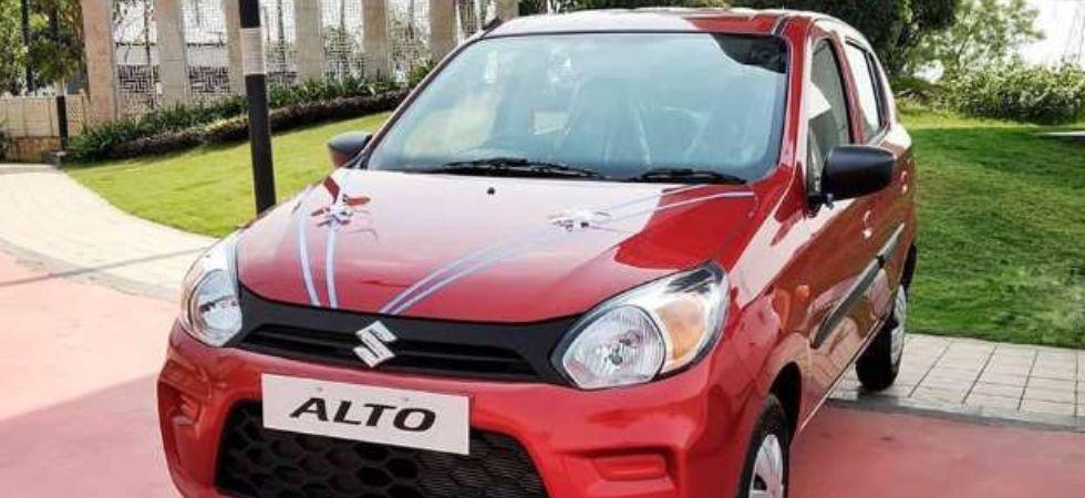 Maruti Suzuki Alto CNG (Photo Credit: Twitter)