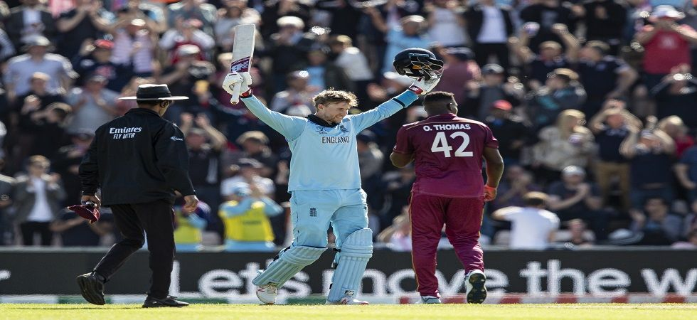 Joe Root became the first England player after Kevin Pietersen to hit two tons in a single edition of the World Cup. (Image credit: Getty Images)