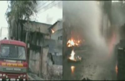 Fire breaks out in pesticide factory in Meerut's Mohkampur industrial area
