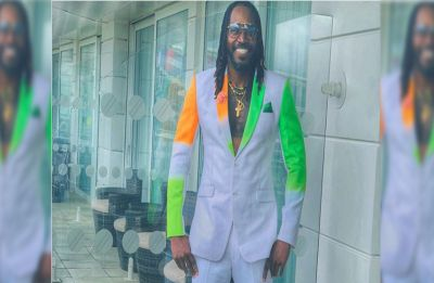 In special 'India-Pakistan suit', Chris Gayle gears up for mega World Cup 2019 clash