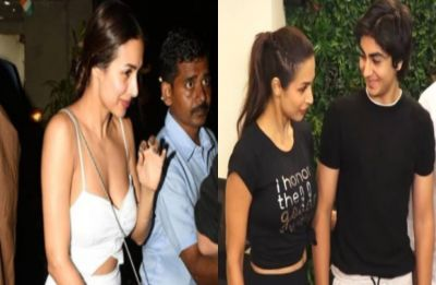 Malaika Arora gets mercilessly TROLLED for wearing 'indecent' dress on an outing with son Arhaan