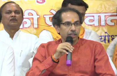 Uddhav Thackeray visits Ayodhya, offers prayers to Ram Lalla along with Shiv Sena MPs