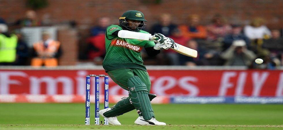 Shakib Al Hasan blasted his ninth century as Bangladesh defeated West Indies by seven wickets in the ICC Cricket World Cup 2019 clash at Taunton. (Image credit: Getty Images)