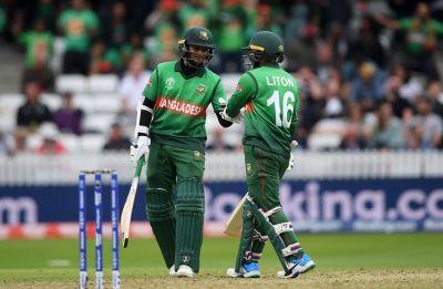 Shakib Al Hasan century powers Bangladesh to seven-wicket win vs West Indies in World Cup 2019