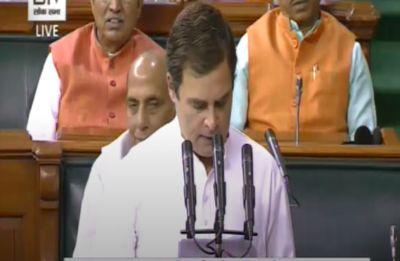Congress president Rahul Gandhi takes oath as Wayanad MP in Lok Sabha