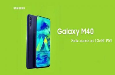 Samsung Galaxy M40 goes on sale today, check out price, features and offers