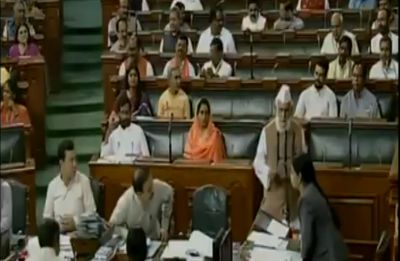VIDEO | This MP refuses to chant 'Vande Mataram' after taking oath in Lok Sabha