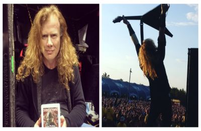 Megadeth's Dave Mustaine diagnosed with throat cancer; band cancel tour following diagnosis