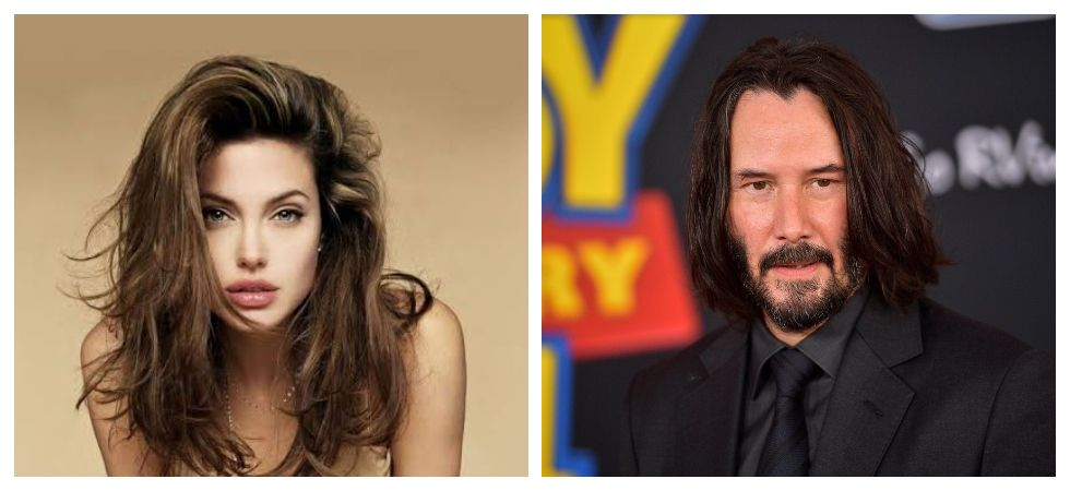 Reports claim Angelina Jolie wants to date Keanu Reeves (Photo: Twitter)