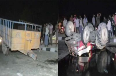 6 killed, 15 injured in tanker-tractor collision in Sitapur