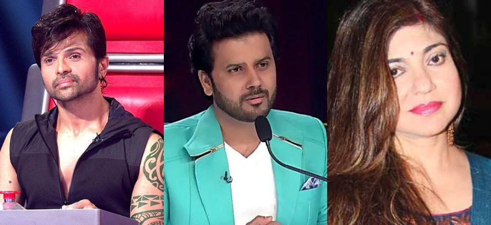 Himesh Reshammiya, Javed Ali and Alka yagnik (Photo Credit: Twitter)