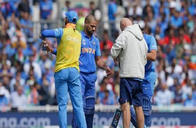 WATCH: Shikhar Dhawan has heartfelt message after getting ruled out of World Cup 2019