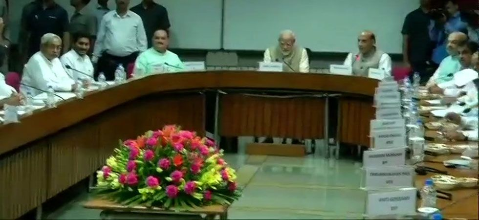 All-party meet chaired by PM Modi on 'one nation, one election'  begins, many Opposition leaders skip