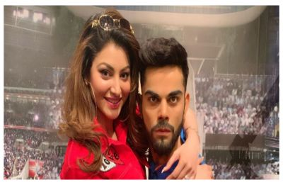Urvashi Rautela ruthlessly trolled after she posts picture of herself hugging Virat Kohli, CHECK out