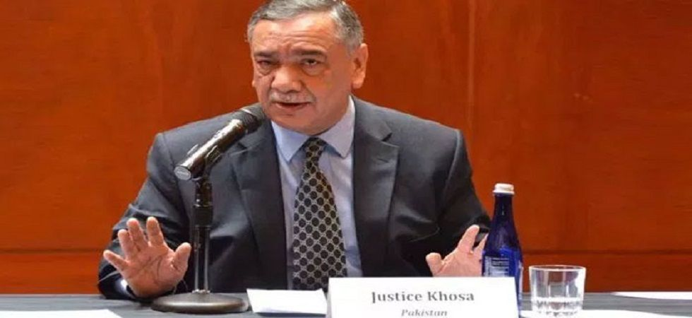 Pakistan's chief justice Asif Saeed Khosa