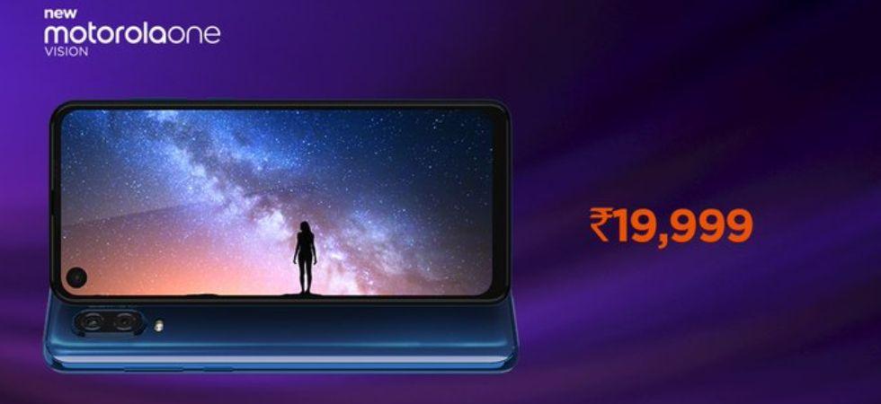 Motorola One Vision (Photo Credit: Twitter. Motorola India)